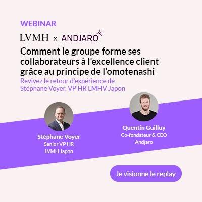 Visionner le replay du webinar LVMH x Andjaro