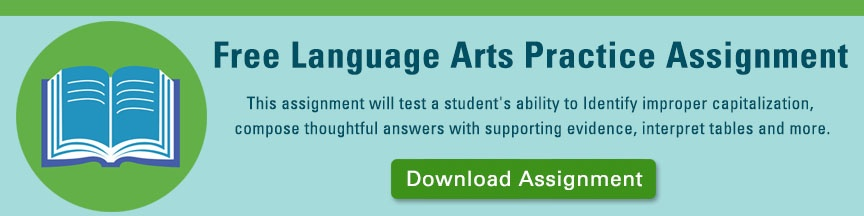 High School Equivalency Test Language Arts Assignment