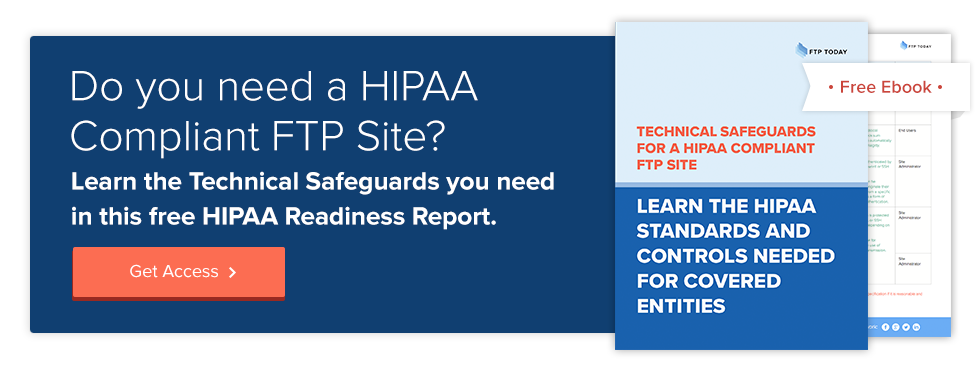 hipaa compliant ftp site