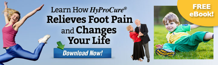 Learn How HyProCure Relieves Foot Pain- Download eBook