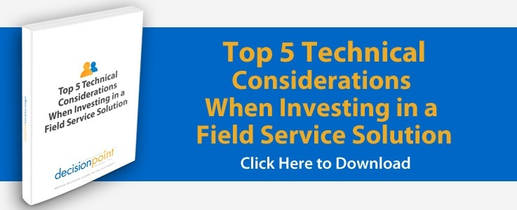 What to consider in a field service solution