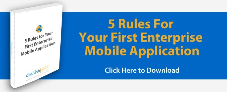 5 Rules for Enterprise Mobile Application