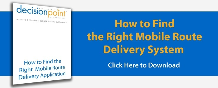 Find the Right Mobile Route Delivery System