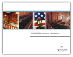 Courtroom Construction in Limited Space - Fentress Inc.