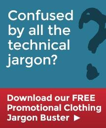 Promotional Clothing Jargon Buster
