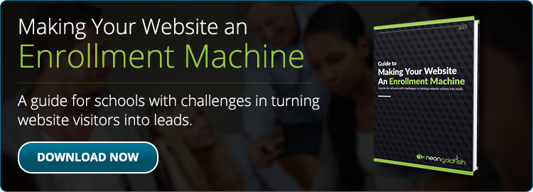 Guide To Making Your Website An Enrollment Machine