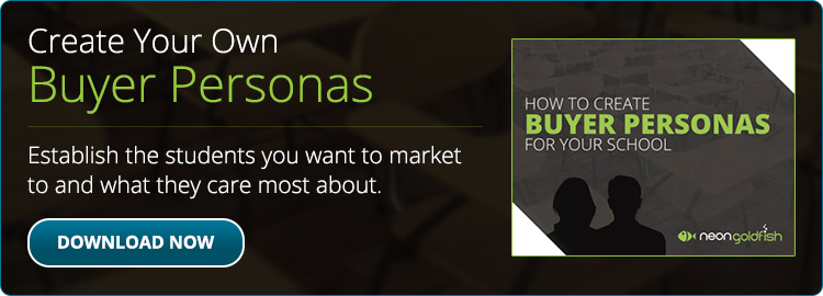 Create your own student buyer personas