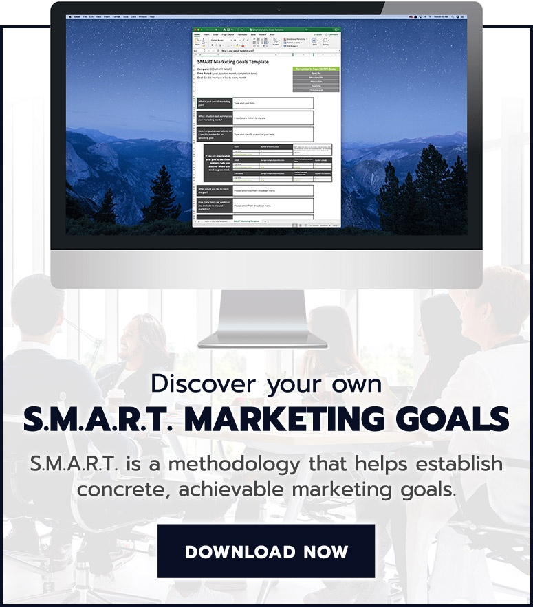Discover your own SMART marketing goals.