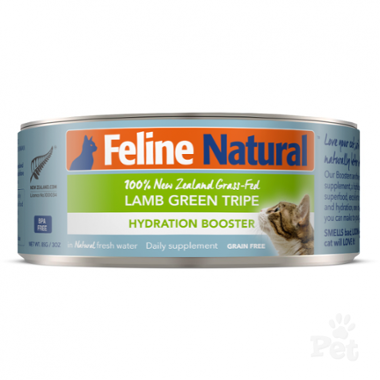 Feline Natural Lamb Green Tripe Hydration Booster Wet Cat Food