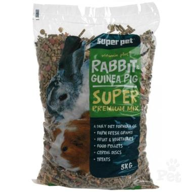 Masterpet Rabbit & Guinea Pig Premium Mix