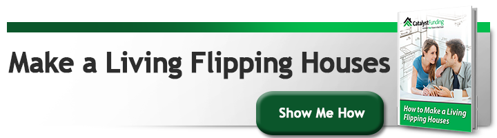 make a living flipping houses