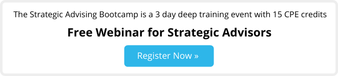 free webinar for strategic advisors - bootcamp