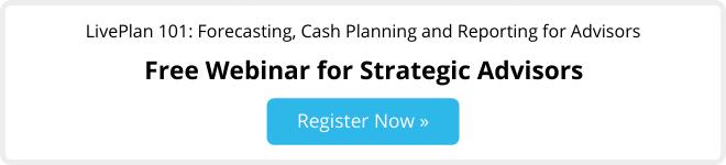 LivePlan for advisors webinar