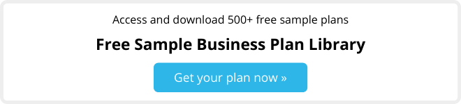 Access and download 500+ free sample plans from our Business Plan Library. Get your plan now.
