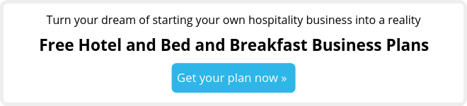 Free bed and breakfast business plans
