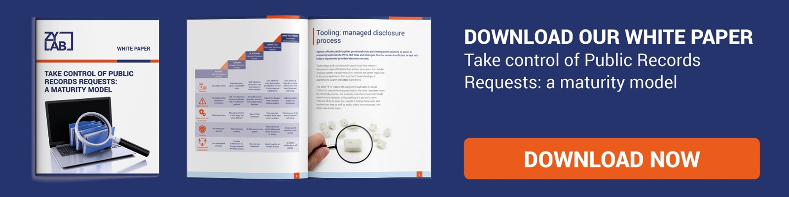 Take control of Public Records Requests: Download Whitepaper