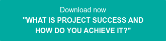 "Download now ""WHAT IS PROJECT SUCCESS AND  HOW DO YOU ACHIEVE IT?"""