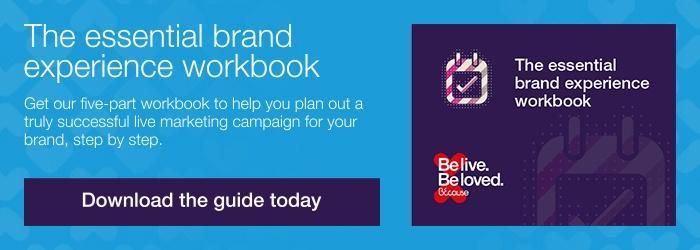 Brand experience workbook