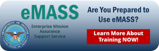 eMASS Training Options