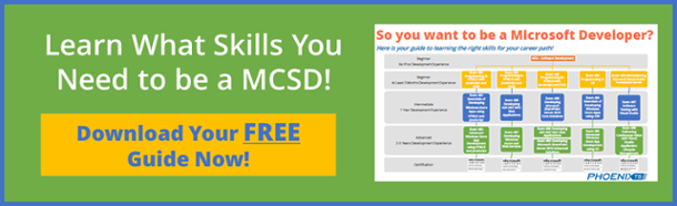 MCSD Certification Path
