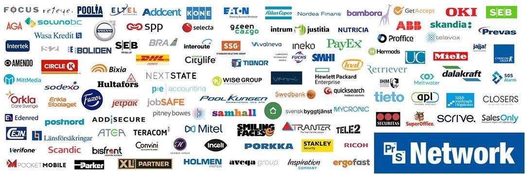 Medlemsföretag i ProSales Network