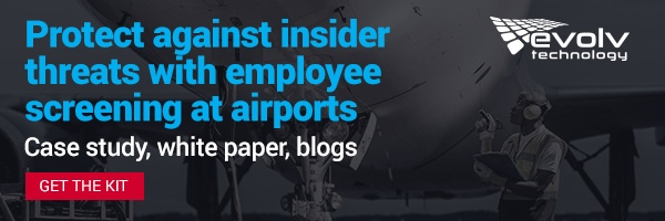 Protect against insider threats with employee screening at airports