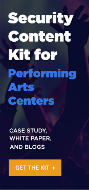 Security content kit for performing arts centers