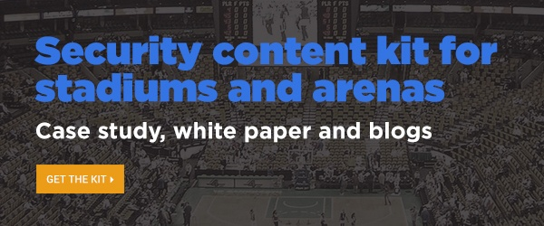 Security content kit for stadiums and arenas