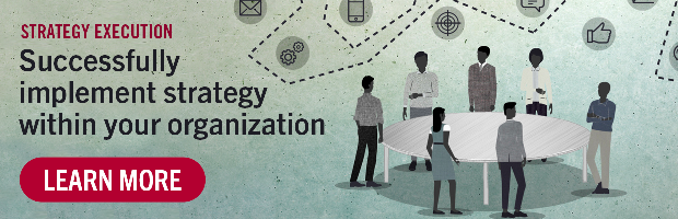 Strategy Execution | Successfully implement strategy within your organization | Learn More