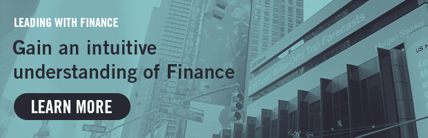 Leading With Finance -- Gain an intuitive understanding of Finance -- Learn More!