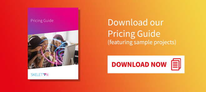 Download our Pricing Guide (featuring sample projects)