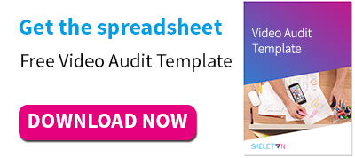 Get the template: Free Video Audit Template