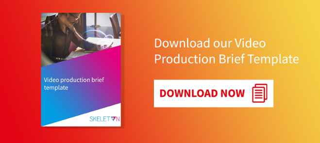 Download our Video Production Brief Template