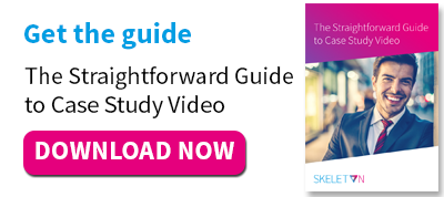 Get the guide: The Straightforward Guide to Case Study Video