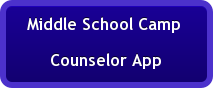 Middle School Camp  Counselor App