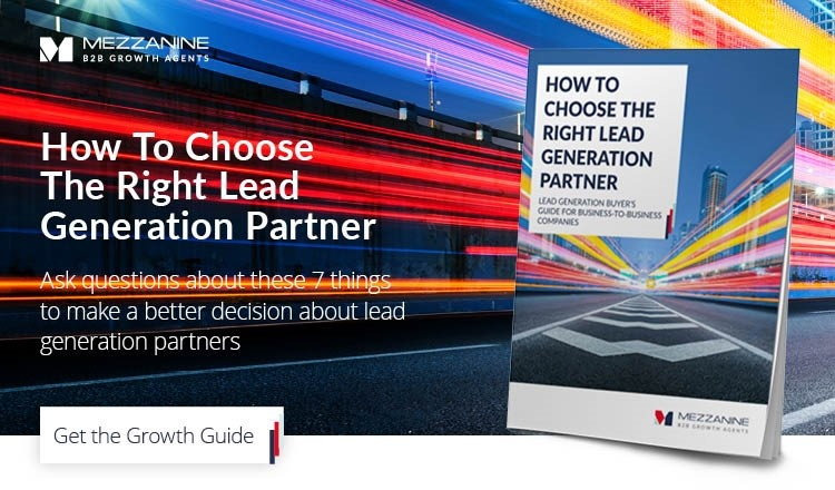 How to choose the right lead generation partner