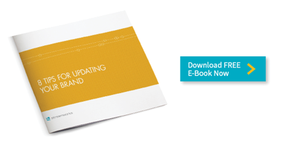 Download free e-Book 8 Tips for Updating Your Brand