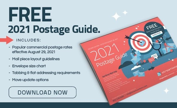 Updated 2021 Postage Guide August 29