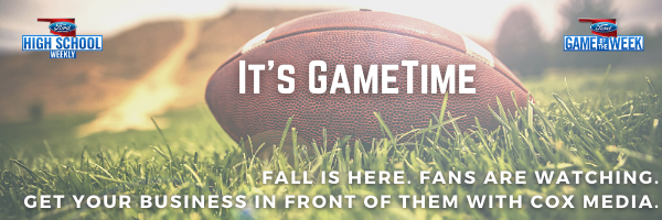 It's GameTime. Fall is here. Fans are Watching. Get your business in front of them with Cox Media.