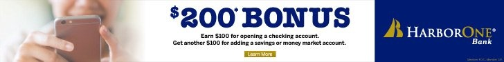 Click to find out how to earn $200 for opening an account at Harbor One Bank