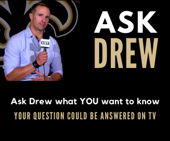Ask Drew Brees a question and you could win