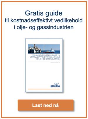 Hvordan gjøre vedlikehold effektivt i olje- og gassindustrien?