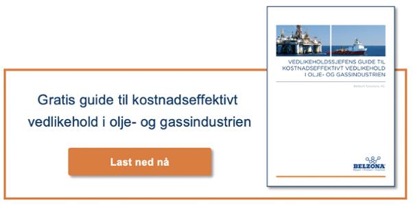 Gratis guide til kostnadseffektivt vedlikehold i olje- og gassindustrien