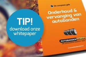 Download whitepaper: onderhoud en vervanging van autobanden