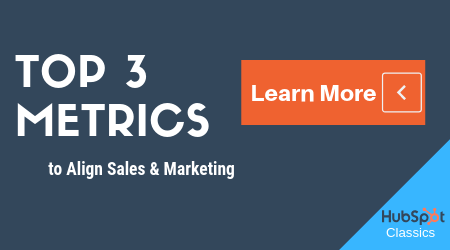 3 Metrics to Align Sales & Marketing