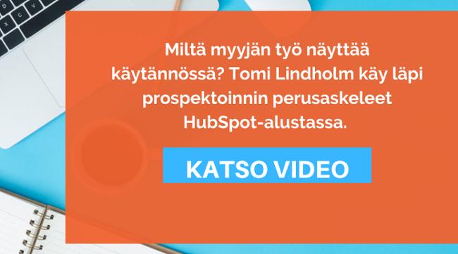 Älykäs prospektointi HubSpotissa