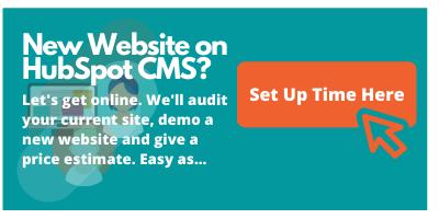 HubSpot CMS Audit & Offer