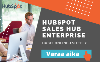 HubSpot CRM Sales Hub Enterprise -esittely