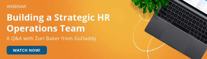 Building a Strategic HR Operations Team GoDaddy Interview