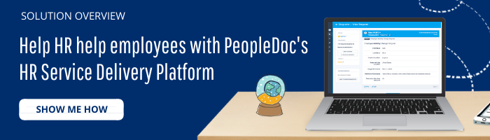 button to download PeopleDoc HR Service Delivery solution overview